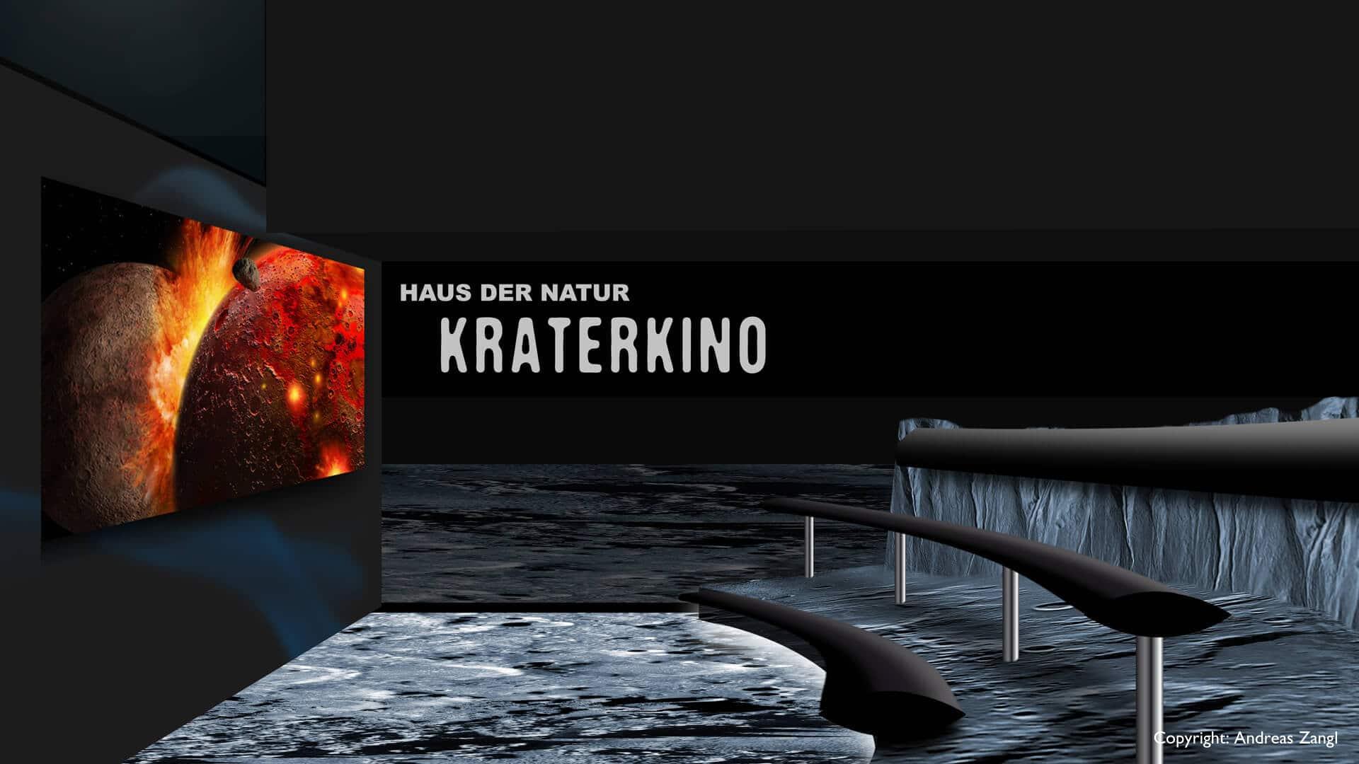 Weltraumhalle Haus der Natur Salzburg ScienceVision
